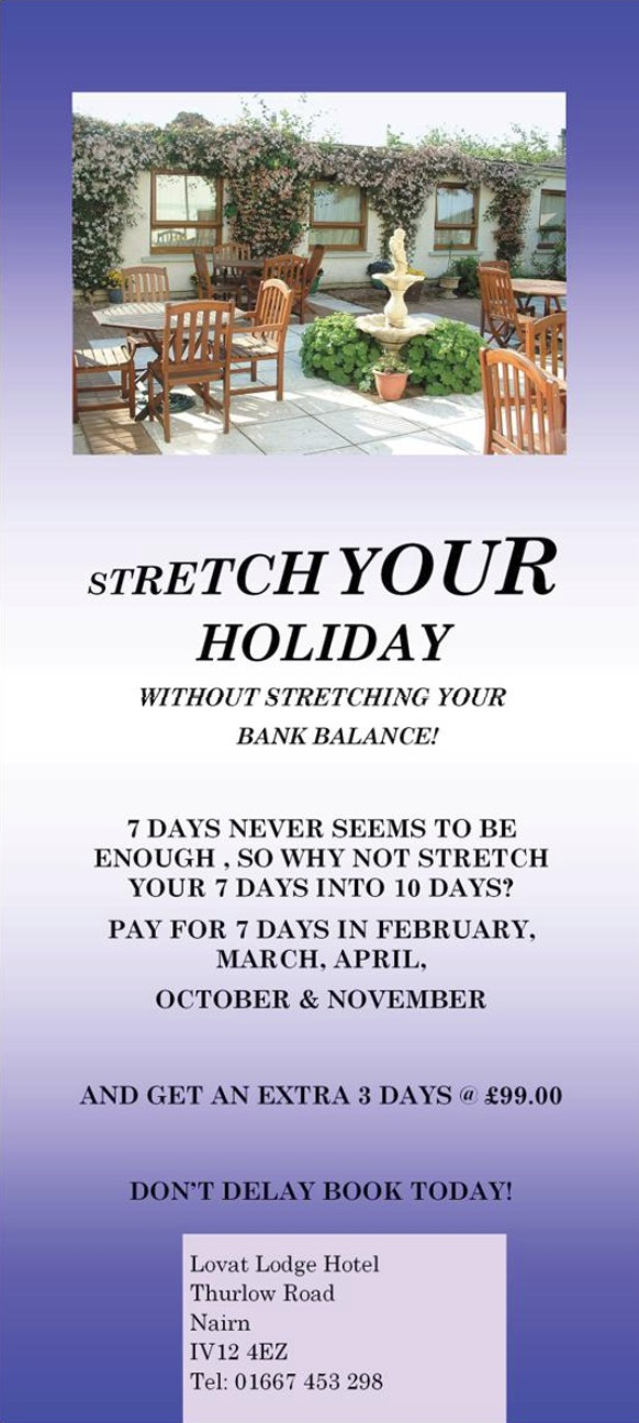 stretch your holiday